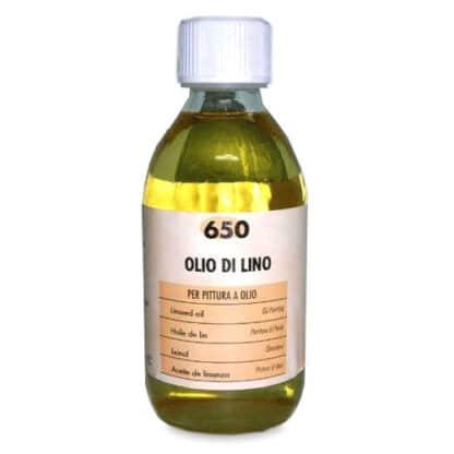 650 Масло льняное 500 мл вспомогательные материалы для масляной живописи Maimeri Италия