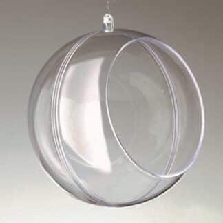 Заготовка пластиковая «Шар с отверстием» 12 см Santi