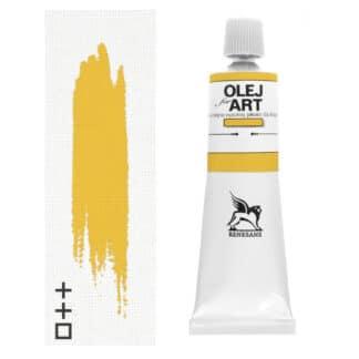 Масляная краска 60 Желтый лазурный 60 мл Renesans Польша