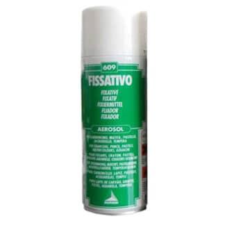 609 Фиксатив 400 мл флакон с распылителем вспомогательные материалы для пастели и угля Maimeri Италия