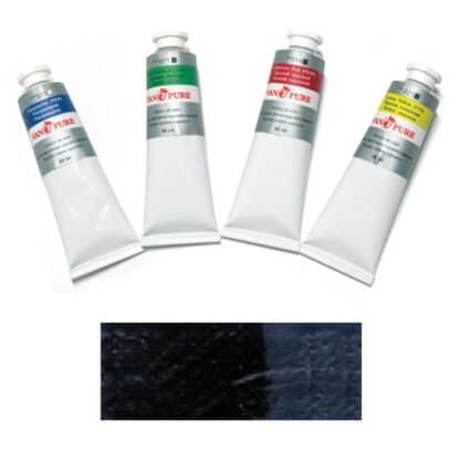 Масляная краска 60 мл 052 сажа газовая Van Pure