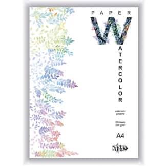 Планшет для акварели А4 (21х29,7 см) бумага рисовальная Словакия 200 г/м.кв. 20 листов «Трек» Украина