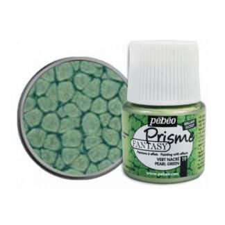 Краска лаковая Fantasy Prisme 019 Зеленый перламутровый 45 мл Pebeo