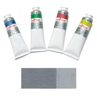 Масляная краска 60 мл 055 серая Van Pure
