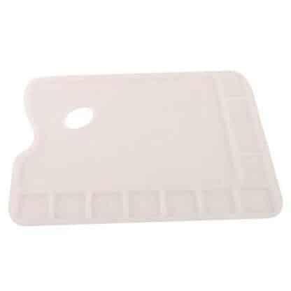 Палитра прямоугольная пластиковая с ячейками 23,4х34 см D. K. ART & CRAFT