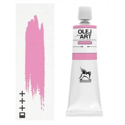 Масляная краска 61 Розовый светлый 60 мл Renesans Польша
