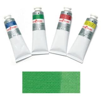 Масляная краска 60 мл 061 изумрудно-зеленая Van Pure