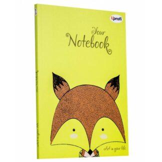 Блокнот «Artbook» lime В6 (125х176 мм) 80 г/м.кв. 128 листов склейка Profiplan