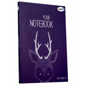Блокнот «Artbook» violet В6 (125х176 мм) 80 г/м.кв. 128 листов склейка Profiplan