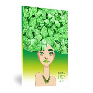 Блокнот «Lady book» Lucky А5 (14,8х21 см) 70 г/м.кв. 80 листов склейка Profiplan