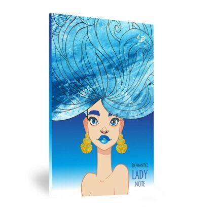 Блокнот «Lady book» Pretty А5 (14,8х21 см) 70 г/м.кв. 80 листов склейка Profiplan