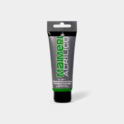 Акриловая краска Acrilico 75 мл 339 зеленый светлый стойкий Maimeri Италия