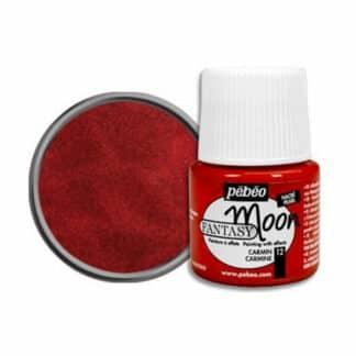 Краска лаковая Fantasy Moon 012 Кармин 45 мл Pebeo