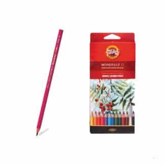 Набор акварельных карандашей Mondeluz 12 цветов Koh-i-Noor