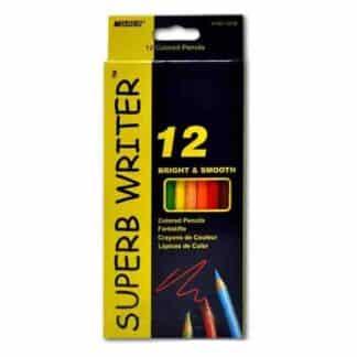 4120-12CB Карандаши акварельные 12 цветов «Superb Writer» Marco