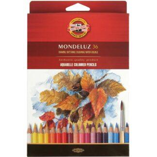 Набор акварельных карандашей Mondeluz 36 цветов Koh-i-Noor