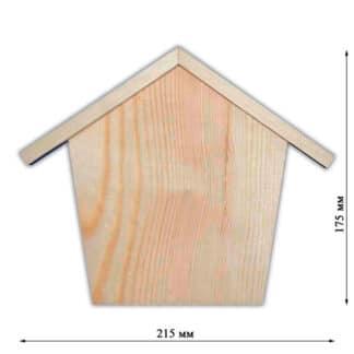 Заготовка деревянная «Ключница» №004 150/215х20х175 мм сосна 2.005с