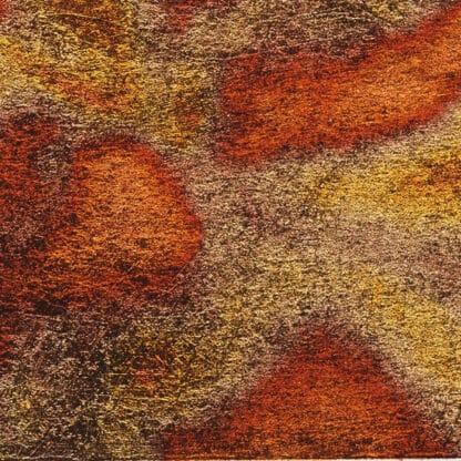 Поталь разноцветная 072 красная 4 листа 14х14 см Idea Oro Maimeri Италия
