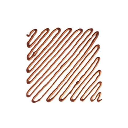 Рельеф для стекла 200 медь 20 мл туба с апликатором Idea Vetro Rilievo Maimeri Италия