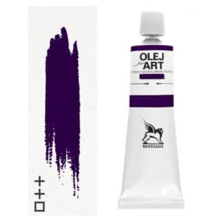 Масляная краска 26 Фиолетовый лак 60 мл Renesans Польша