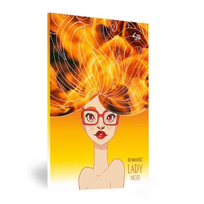 Блокнот «Lady book» Stylish А5 (14,8х21 см) 70 г/м.кв. 80 листов склейка Profiplan