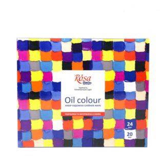 Набор масляных красок 24х20мл Rosa Studio 131009