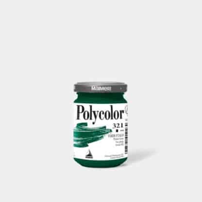 Акриловая краска Polycolor 140 мл 321 зеленый ФЦ Maimeri Италия