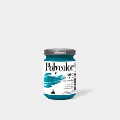 Акриловая краска Polycolor 140 мл 400 синий основной Maimeri Италия