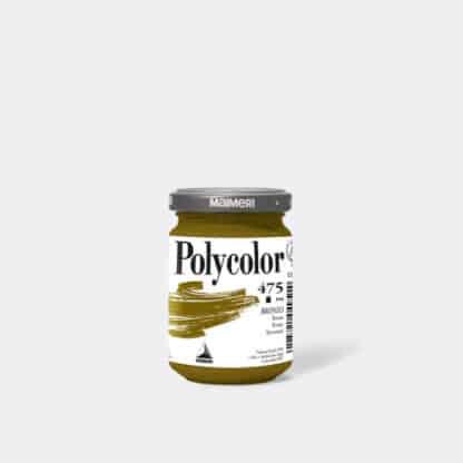 Акриловая краска Polycolor 140 мл 475 бронзовый Maimeri Италия