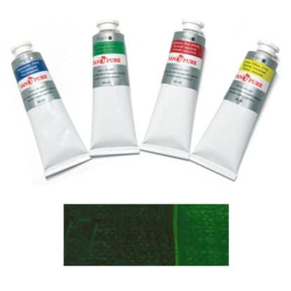Масляная краска 60 мл 064 зеленая темная Van Pure