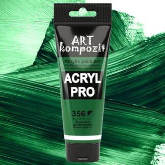 Акриловая краска 356 Зеленый особенный 75 мл Kompozit