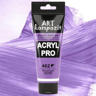 Акриловая краска 462 Фиолетовый светлый 75 мл Kompozit