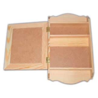 Заготовка деревянная «Ключница» №03 крепеж 4 шт. 200х55х330 мм сосна 2,003с Украина
