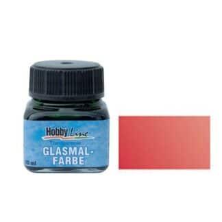 Краска для стекла лаковая прозрачная 45203 Красная темная 20 мл Hobby Line C.KREUL