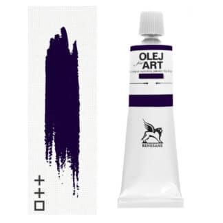 Масляная краска 27 Фиолетовый минеральный 60 мл Renesans Польша
