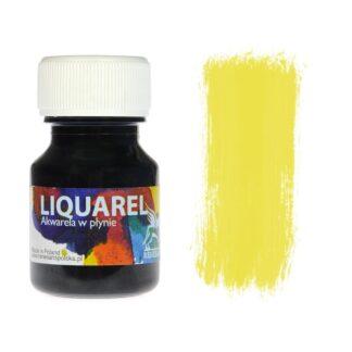 Акварельная краска жидкая Liquarel 105 Желтый лимонный 30 мл Renesans Польша