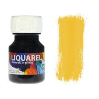 Акварельная краска жидкая Liquarel 111 Желтый темный 30 мл Renesans Польша