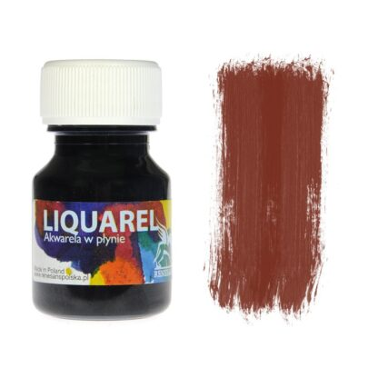 Акварельная краска жидкая Liquarel 141 Коричневый 30 мл Renesans Польша