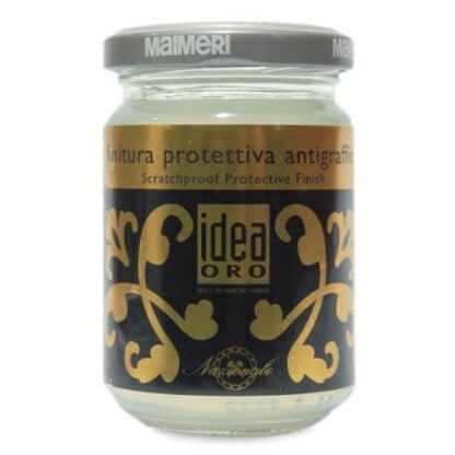 764 Лак защитный абразивостойкий 125 мл вспомогательные материалы для золочения Idea Oro Maimeri Италия