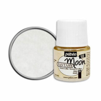 Краска лаковая Fantasy Moon 020 Жемчужный 45 мл Pebeo