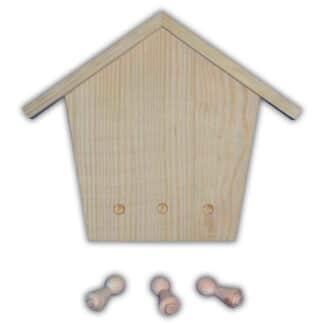 Заготовка деревянная «Ключница» №04 150/215х20х180 мм ольха 2,004 Украина