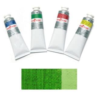 Масляная краска 60 мл 066 травяная зеленая Van Pure