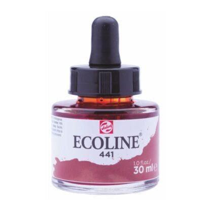 Акварельная краска жидкая Ecoline 441 Махагон 30 мл с пипеткой