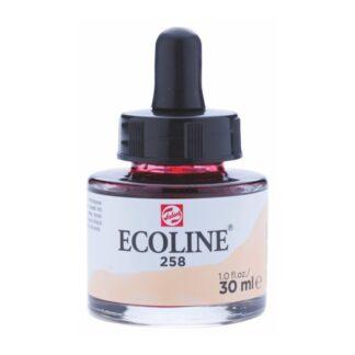 Акварельная краска жидкая Ecoline 258 Абрикосовый 30 мл с пипеткой