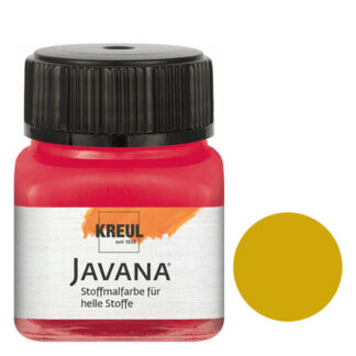 Краска по светлым тканям нерастекающаяся KR-90902 Охра 20 мл Sunny Javana C.KREUL